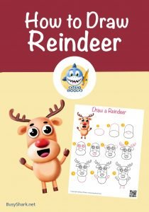 How to draw a reindeer cover image