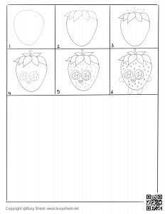 Drawing practice free printable page