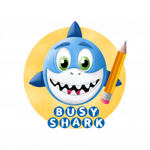 Busy shark how to draw cute things