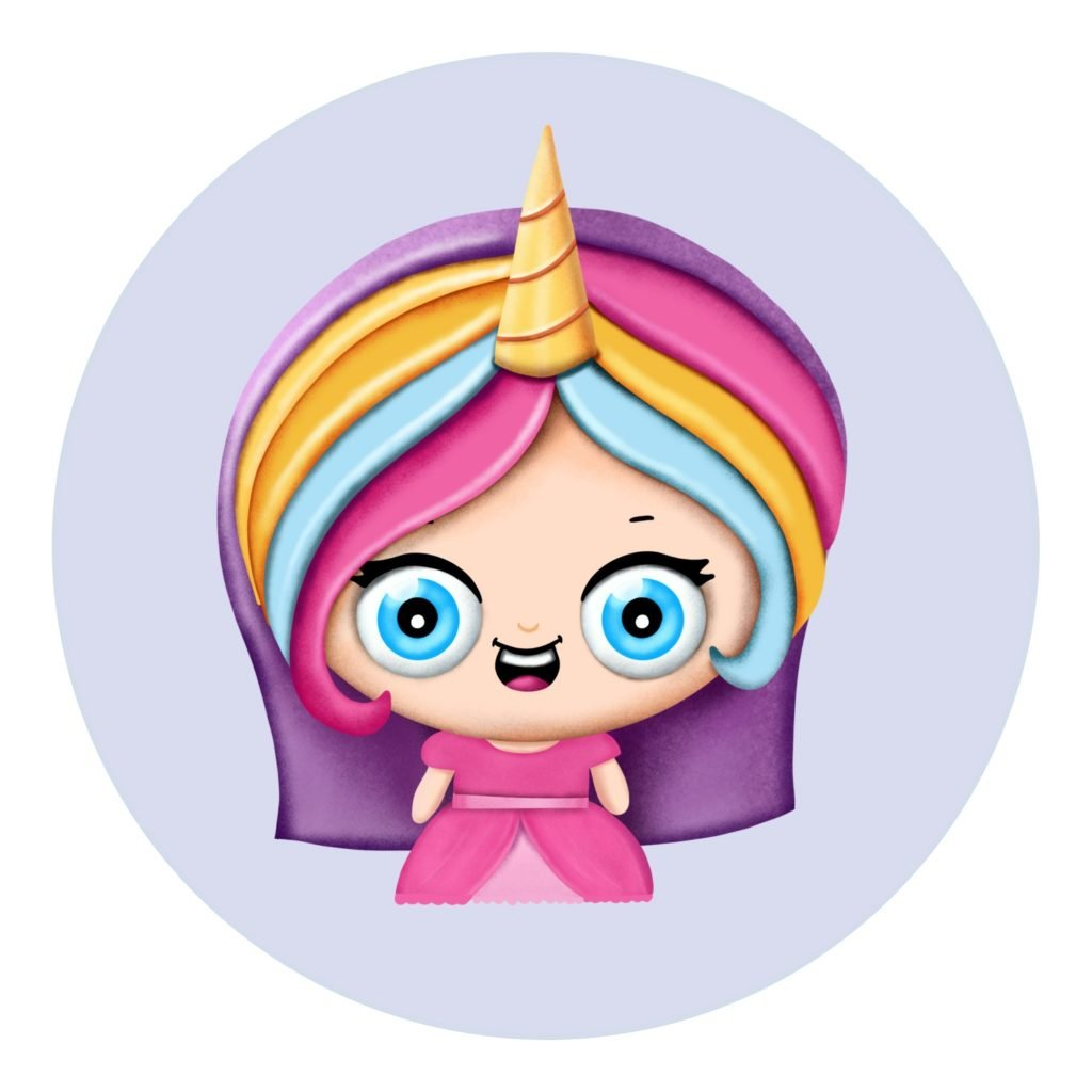 Easy drawing step by step tutorial how to draw a cute cartoon unicorn princess