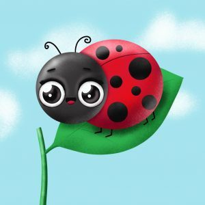 How to draw a cute ladybug on a leaf step by step easy drawing tutorial for spring season