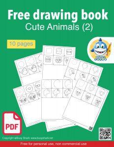 Free cute animals drawing book pdf 2