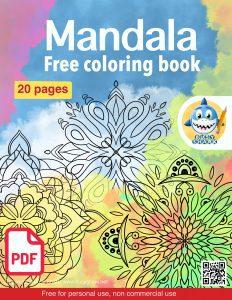Download free mandala coloring book. 20 free pages