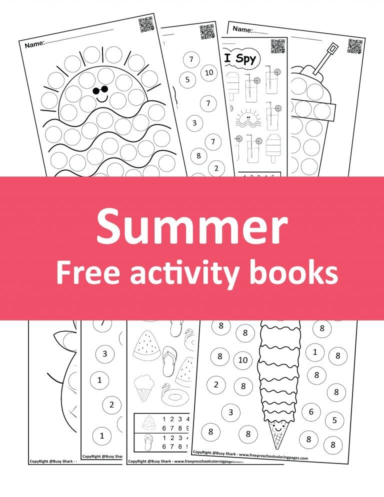 free printables Summer coloring pages for kids